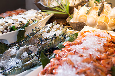 Recently, seafood market is popular